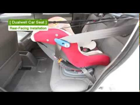 Dualwell(D-1001) Car Seat Rear-Facing Ins..