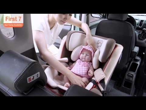 First7(D-1003) Car Seat Rear Facing Insta..