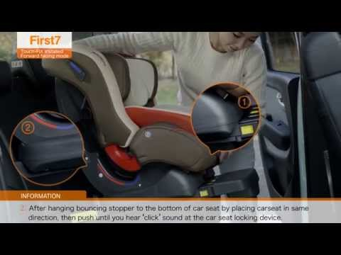 First7 Touch-FIX(D-1003 ISOFIX) Car Seat ..